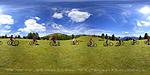 Planisphère : VTT Col de la Couillole :: Date de la prise de vue : 07/2010