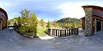 Planisphère : La terrasse du gite :: Date de la prise de vue : 10/2010